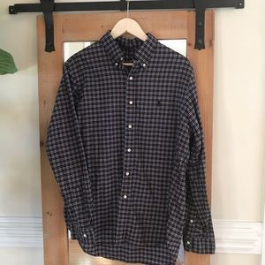 Polo by Ralph Lauren Red Plaid Button Down